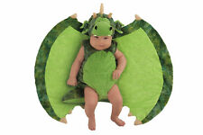 Deluxe Darling Green Dragon Swaddle Wings Baby Child Costume Size 0-3 Months NEW
