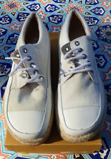 Madison  White Canvas Sneakers Women'sSize EU 40 With Box
