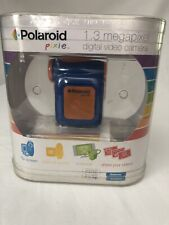 RARE Polaroid Pixie 1.3MP Kids Digital Video Camera - CSA-00301S (Blue) Open box