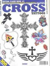 TATTOO FLASH BOOK #2 - CROSS TATTOOS (NEW)