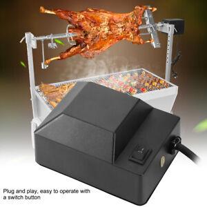 Stainless Steel Electric BBQ Rotisserie Grill Motor Fork Roast BBQ Universal Kit