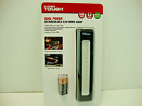 NEW HYPER TOUGH 500 Lumens Dual Power Battery/USB Rechargeable LED Work Light