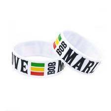BOB MARLEY ONE LOVE music Silicone Rubber Wristband bracelet jewelry new 1pcs