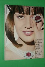 NOVITA' raro! DICEMBRE N.165/1964 MODA CATHERINE SPAAK FEDERICO FELLINI NO VOGUE