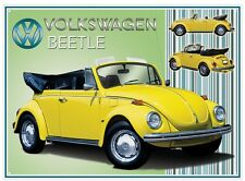 VW Beetle Cabriolet Wall Art