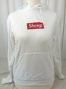 Jerzees Hoodie Pullover Sheep Damen Größe S