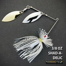 Bassdozer spinnerbaits FINESSE 3/8 oz H. SHAD-A-DELIC spinnerbait spinner baits