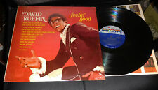 DAVID RUFFIN Feelin' Good Motown shrink DG labels NO CUT-OUT MARKS Alright
