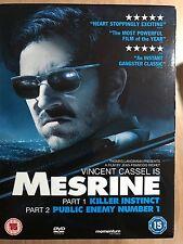 MESRINE 1 + 2 ~ 2009 ~ True Life French Crime Saga Double Bill    UK 2-Disc DVD