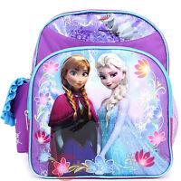 """Disney Princess Frozen Anna Elsa & Olaf  12"""" backpack  2014 Licensed Product"""