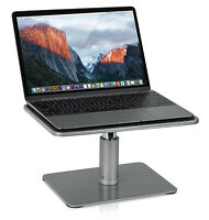 Mount-It Laptop Desktop Stand Riser for MacBook and Notebooks, Chrome