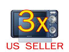 3x Sony Camera CyberShot DSC- W290 W330 LCD Screen Protector Guard Cover Film
