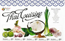 Mustique Grenadines St Vincent 2013 Thai Cuisine 4v M/S Thailand Green Curry