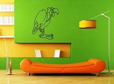 Wall Stickers Vinyl Decal Nursery Parrot Vulture Bird Animals For Kids (ig1641)