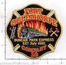 Georgia - Fort Oglethorpe Company 10 GA Fire Dept Patch Duncan Park Express