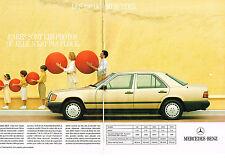 Publicité advertising  2003    MERCEDES BENZ  260 E  (2 pages)