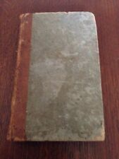 Antique Book, 1832, Pike's System Of Arithmetic, Abridged By Dudley Leavitt