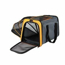 S/L Soft Airline Pet Dog Cat Travel Carrier Hand Shoulder Bag Kennel Cage Crate