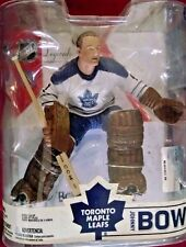 2007 McFarlane Hockey NHL Legends Series 6 Johnny Bower White Chase Figure