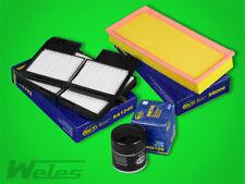 INSPEKTIONSPAKET TOYOTA Avensis T22 1,6 1,8 2,0 Carina E Luft- Pollen- Ölfilter
