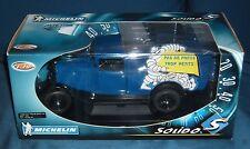 """1:18 Citroen C4 F """"Michelin"""" - blau - Solido - NEU in ungeöffneter OVP"""