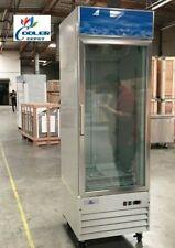New Commercial One Glass Door Freezer Model D368bmfsingle Cooler Nsf Etl