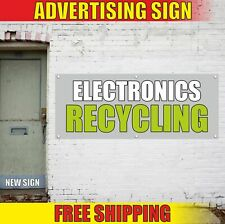 ELECTRONICS RECYCLING Advertising Banner Vinyl Mesh Decal Sign UTILIZATION