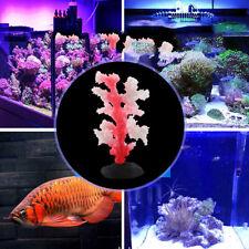 Aquarium Artificial Coral Simulation Plant Aquatic Anemone Underwater Fish Tank