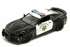 Motor Max 1:24 2017 Chevrolet Camaro ZL1 California Highway Patrol Diecast Car