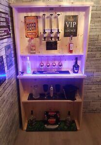 BAR SHELVING UNIT MANCAVE/WINE BAR/COCKTAIL BAR
