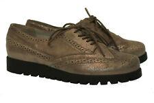 ♥NEU~WALDLÄUFER~Luxus Damen Schuhe~Gr.5 H / 38~Echt Leder~WECHSELFUßBETT~NEU ♥