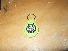 1968 1969 1970 1971 DODGE CORONET CHARGER SUPER BEE LEATHER KEYCHAIN BRT GREEN