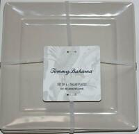 "Tommy Bahama 100% Melamine Indoor / Outdoor 9"" Square Salad / Sandwich Plates"