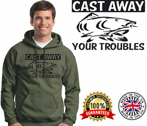 Carp Fishing Hoodie Carping Hoody Quality Brands Long Cast Fishing Clothing