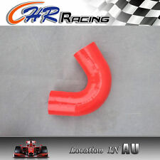 """RED for Silicone Hose Elbow Bend 135 degree Turbo Pipe 70mm 2.75"""""""
