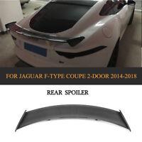 Carbon Spoiler Heckspoiler Heckflügel Lippe Für Jaguar F-TYPE Coupe 14-18 Ansatz