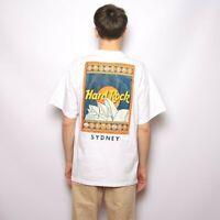 Vintage 90s Hard Rock Cafe Sydney T Shirt Size L