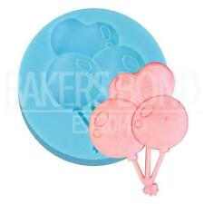 Birthday Balloon Silicone Mould Cake Chocolate Reusable Baking Sugar Craft Gum