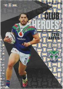 2021 Nrl Traders Club Heroes PRIORITY (CH29) Tohu HARRIS Warriors 04/23