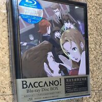 Baccano Blu-ray Disc BOX Limited Edition ANZX-9691 Japan Anime F/S NEW