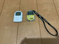 Sony PocketStation PlayStation PS Crystal & White SCPH-4000 Japan P42