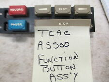 Teac A5500 / A5300 Function Button Assembly