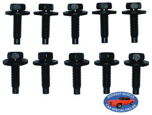 Ford Lincoln Mercury Body Fender Frame Factory Correct 5/16-18 Bolt Bolts 10pc F