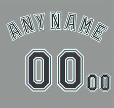 Béisbol Florida Marlins Personalizado número de Kit para 2003-2011 Gris Jersey