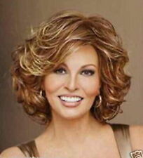 Hot Style! Fashion wig New Charm Women's Short Brown Mix Blonde Curly Full wigs
