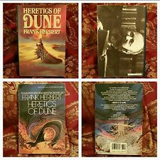 2 BOOKS!! **FIRST EDITION, FIRST PRINT**,  Heretics of Dune by Frank Herbert, VG