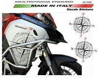Adesivi per Ducati Multistrada 1200 Enduro - Rosa dei Venti
