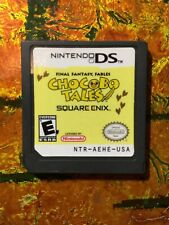 Chocobo Tales Nintendo DS Authentic Cleaned Tested