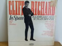CLIFF  RICHARD        LP        CLIFF  RICHARD   IN  SPAIN