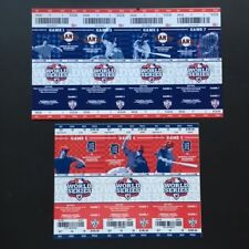 Detroit Tigers San Francisco Giants World Series Tickets 2012 Games 1 to 7 Stub